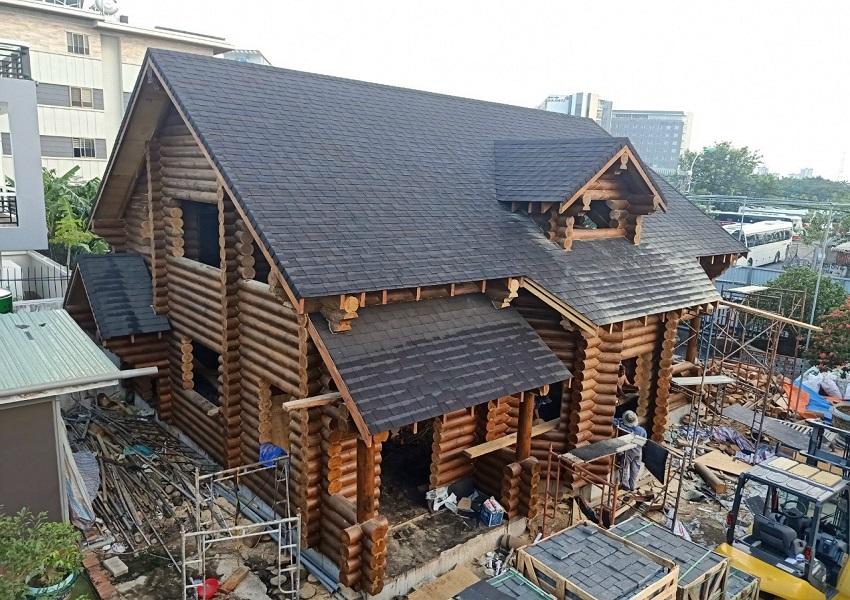 Thi công nhà gỗ