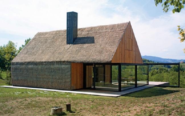 Thiết kế nhà gỗ miền Tây hiện đại