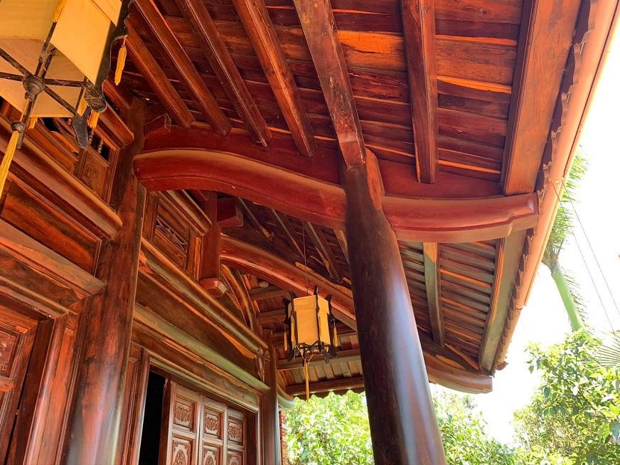 Thiết kế nhà gỗ từ đường