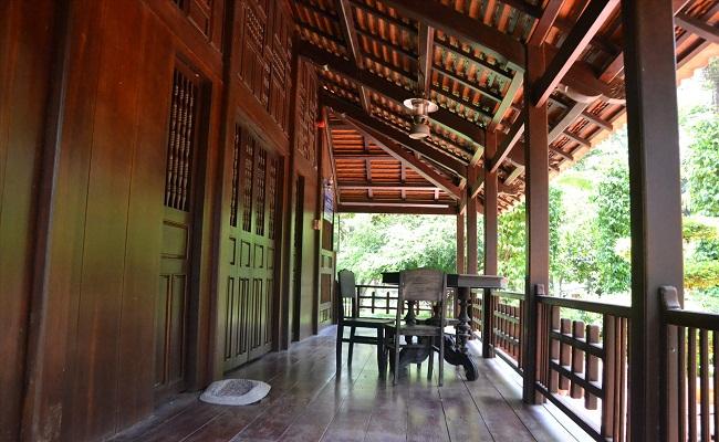Thiết kế nhà sàn gỗ miền Tây