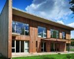 Mẫu nhà gỗ 2 tầng hiện đại đẹp