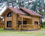 Những mẫu nhà bằng gỗ thông đẹp