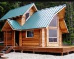 Những mẫu nhà gỗ nhỏ đẹp và tiện nghi