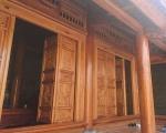 Mẫu thiết kế nhà gỗ gõ đỏ đẹp