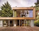Nhà gỗ lắp ghép, giải pháp xây dựng hiện đại