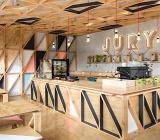 Nhận xây nhà gỗ làm quán coffee